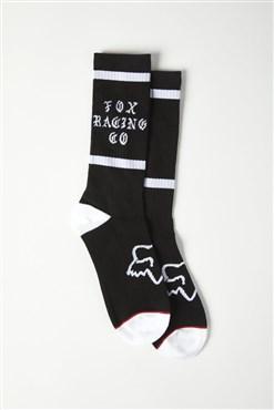 Fox Clothing Top Coat Crew Socks