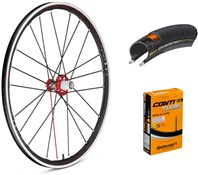 Fulcrum Racing Zero Competizione 700c Wheelset with Tyres and Tubes