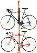 Gear Up OakRak Floor-To-Ceiling 2 To 4-Bike Rack