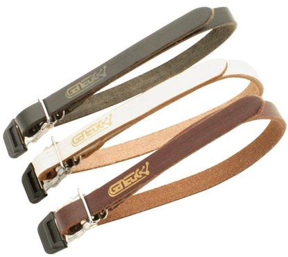 Genetic Single Toe Clip Leather Straps