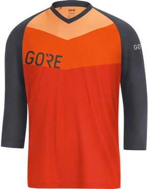 Gore C5 All Mountain 3 4 Sleeve Jersey  e52ee6a7f