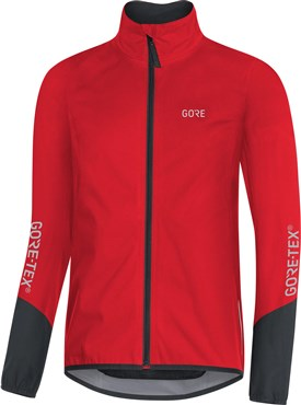 US 3.5-5 EU 35-37 Small Gore Bike Wear Power Sock Black//Red