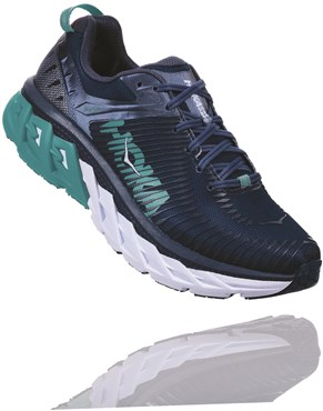 bd3f864f54 Hoka Arahi 2 Womens Running Shoes | Tredz Bikes