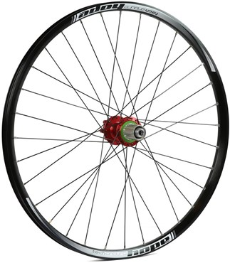 "Hope Tech Enduro - Pro 4 26"" Rear Wheel - Red"