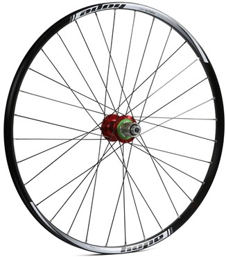 Hope Tech XC - Pro 4 27.5 / 650B Rear Wheel - Red
