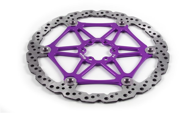 Hope V4 Disc 6 Bolt Vented Disc Brake Rotor | Bremseskiver og -klodser