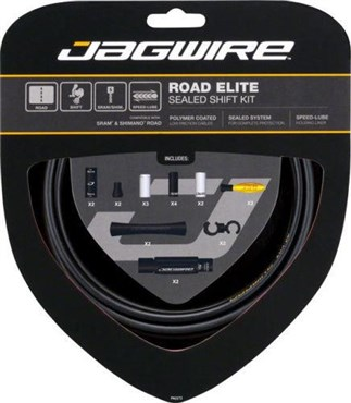 Jagwire Road Elite Sealed Gear Kit | Gear levers