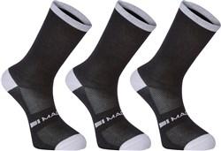 Madison Freewheel Coolmax Long Socks Triple Pack