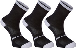 Madison Freewheel Coolmax Mid Socks Triple Pack