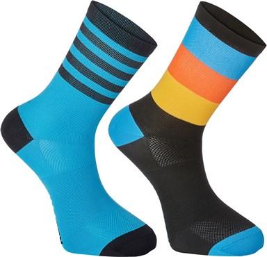 Madison Sportive Mens Mid Sock Twin Pack | Strømper