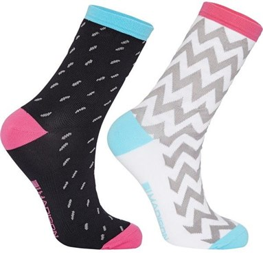 Madison Sportive Mid Sock Twin Pack