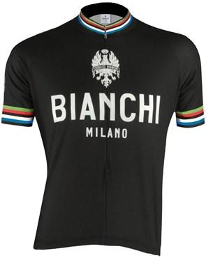 Nalini Bianchi Milano Pride Cycling Short Sleeve Jersey SS16