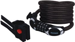 Oxford Viper12 Cable Combination Lock