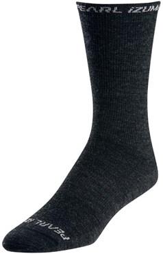 Pearl Izumi Elite Tall Wool Cycling Socks SS17