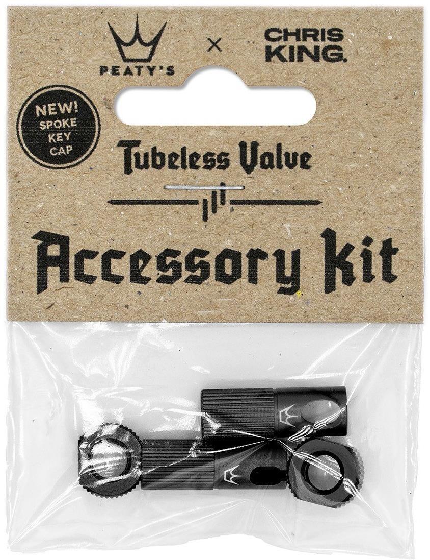 Peatys Chris King (MK2) Tubeless Valves Accessory Kit   valve