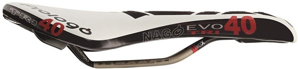 Prologo Nago Evo Tri40 Tirox CPC Saddle with Tirox Rails