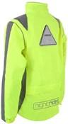 Proviz Nightrider Waterproof Cycling Jacket Yellow Back