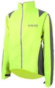 Proviz Nightrider Waterproof Cycling Jacket Yellow Front