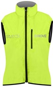Proviz Switch Womens Cycling Gilet Yellow Front