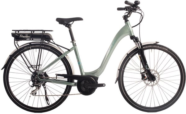 Raleigh Motus Low Step Derailleur Womens 2018 - Electric Hybrid Bike