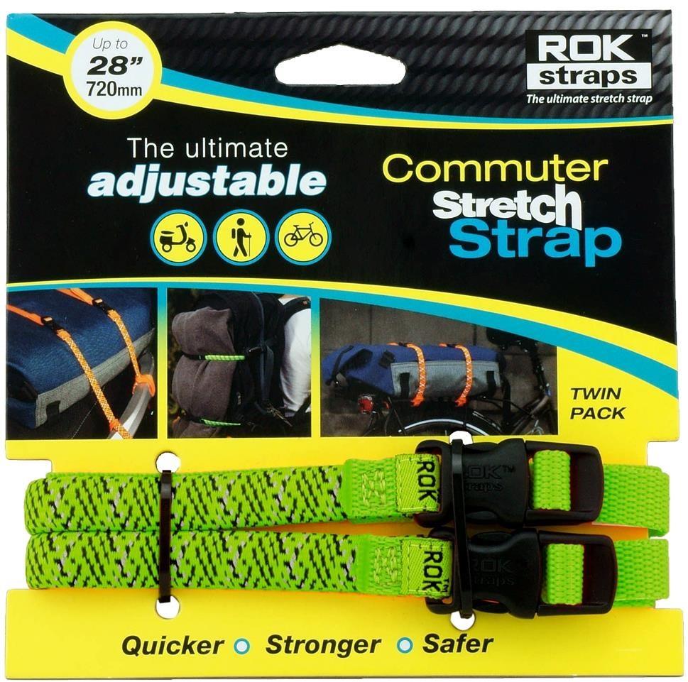 Rok Straps Commuter Adjustable Reflective Stretch Strap   Reflectives