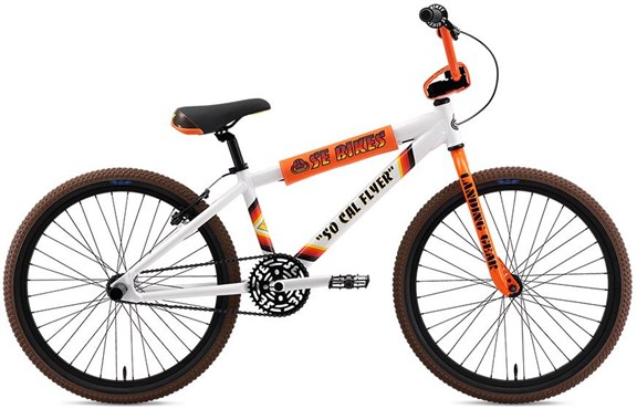 SE Bikes SO CAL Flyer 24W 2019 - BMX Bike   BMX-cykler