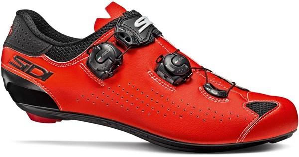 NEW 2019 Sidi GENIUS 7 Road Cycling Shoes BLACK//YELLOW//BLACK