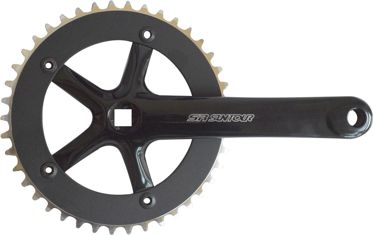 SR Suntour CW-SCSP42-SP 42T Single Chainset   Mountainbikes