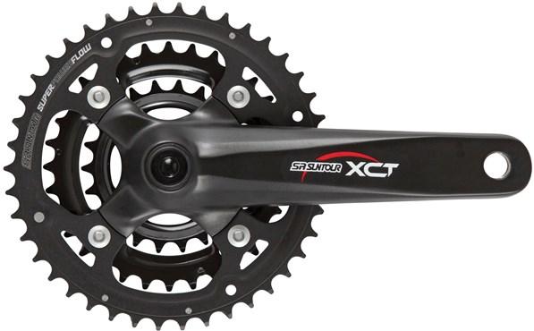 SR Suntour CW-XCT-T312 22/32/42T Chainset