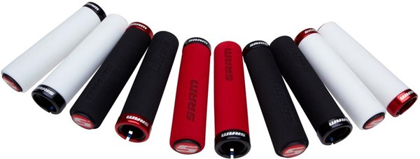 SRAM Locking Grips Foam With Single Clamp and End Plugs