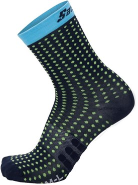 Santini Tono 2 Medium Profile QSkin Sock | Strømper
