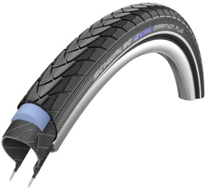 Schwalbe Marathon Plus SmartGuard E-25 Black n Roll Compound Evo Wired Tyre