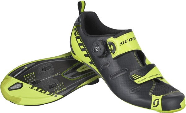 Scott Carbon Triathlon Cycling Shoes