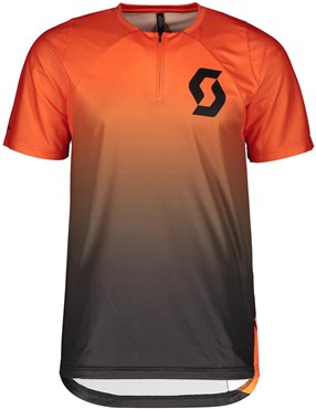 Scott Trail Vertic Zip Short Sleeve Jersey