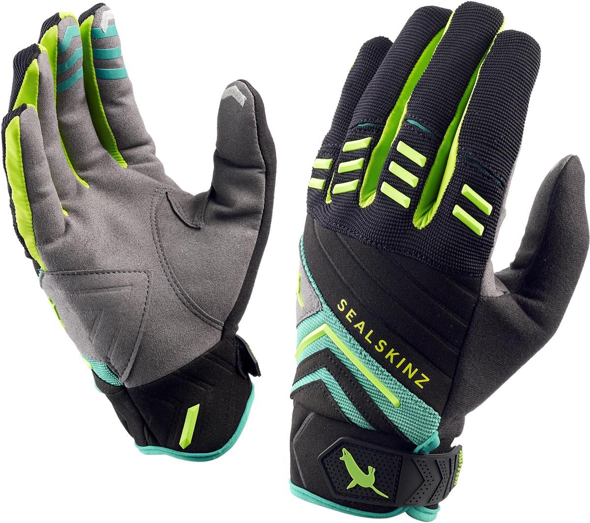 Sealskinz Dragon Eye Trail Long Finger Cycling Gloves | Handsker