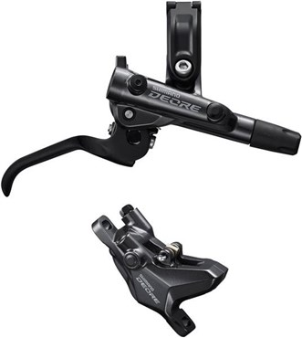 Shimano Deore BR-M6100 2 pot calliper assembly post mount BL-M6100 Lever Brake Set