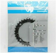 Shimano FC-M430-8 chainring and protector