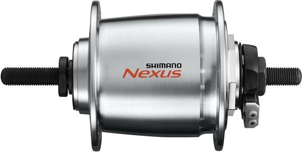Shimano Nexus DH-C6000 1R, 2R & 3R - 6V Dynamo Front Hub - For Roller Brake