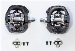 Shimano PD-M647 MTB SPD Pedals - Full