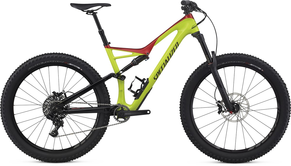 Specialized Stumpjumper Fsr Comp Carbon 6fattie 27 5 Mountain Bike 2017