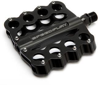 Speedplay Brass Knuckles Chromoly Flat Pedals