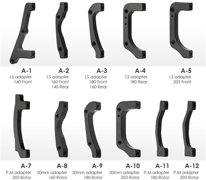 Tektro Auriga and Aquila Mounts / Brake Adaptors