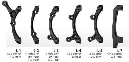 Tektro Lyra Mounts / Brake Adaptors