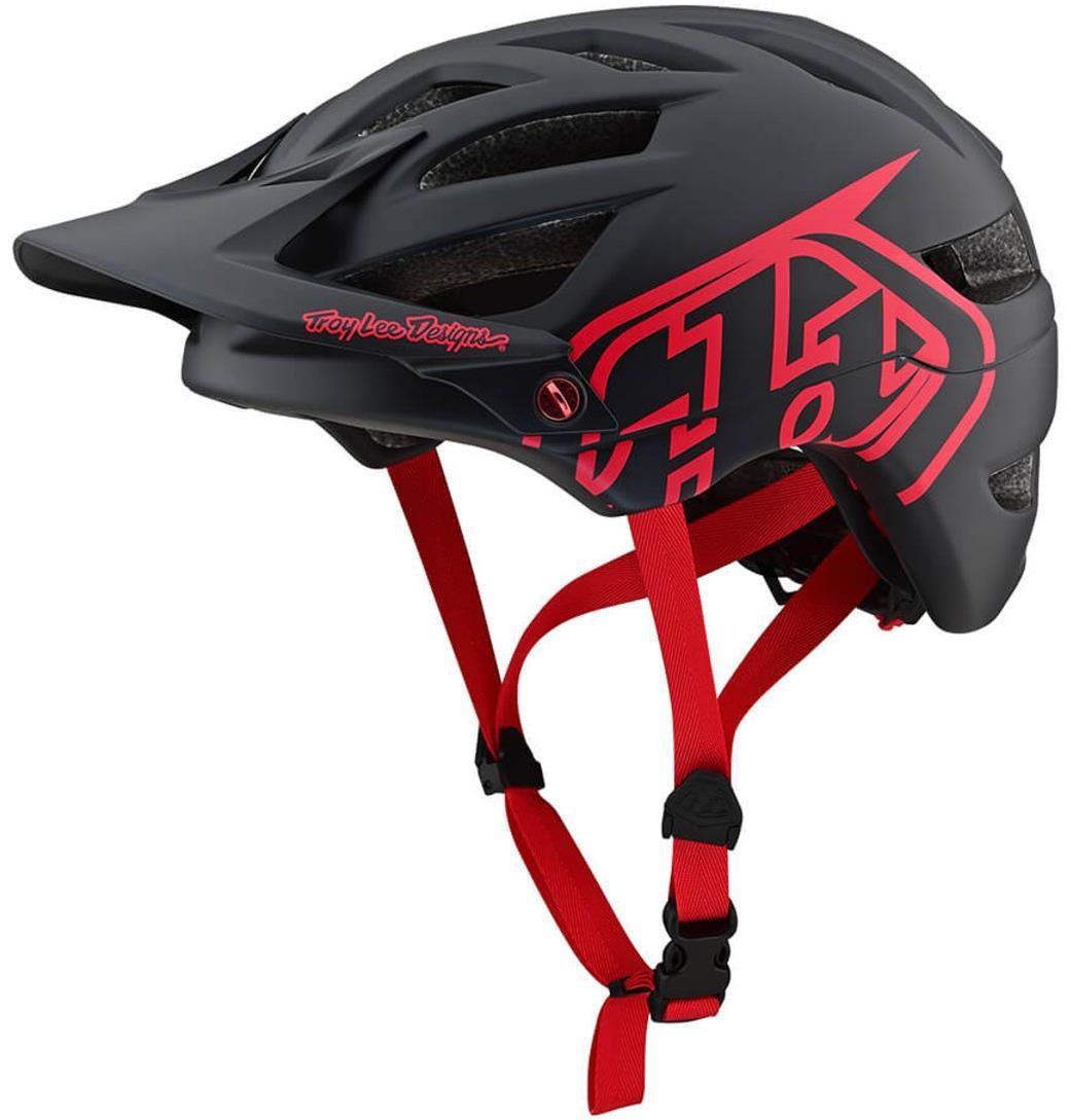 Troy Lee Designs A1 Drone Helmet - Black/Red   Helmets