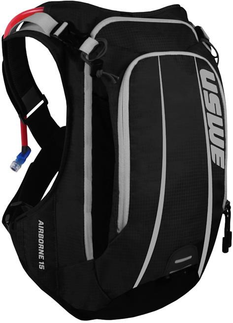 USWE Airborne 15 Hydration Pack 12L Cargo With 3.0L Shape-Shift Bladder | Hydration system spares