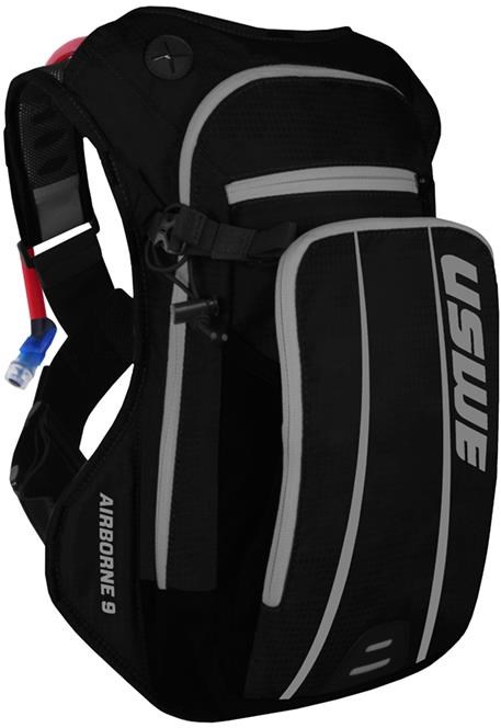 USWE Airborne 9 Hydration Pack With Bladder | Drikkesystemer