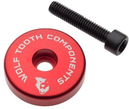 Wolf Tooth Stem Cap with Integrated Spacer