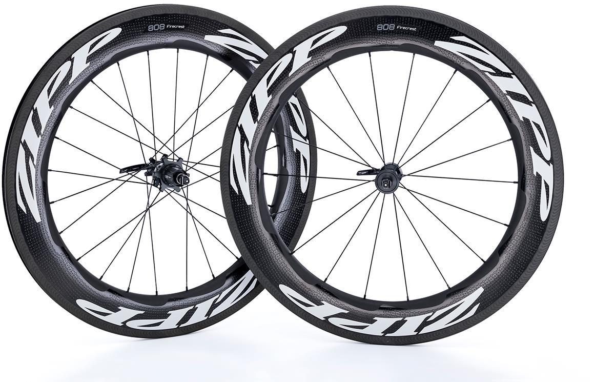 Zipp 808 Firecrest Carbon Clincher Rim Brake 2019 18/24 Spoke Road Wheel | Wheelset